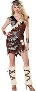 Adult Barbarian Babe Viking Wildling Valkyrie Fancy Dress Costume