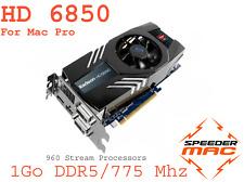  AMD Radeon HD 6850  1GB Ram DDR5, pour Mac Pro 3.1 ,4.1 ou 5.1,  4k (As 6870)