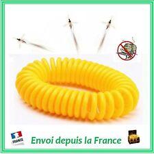 Bracelet Anti-Moustiques Citronnelle Répulsif Insecte Extensible