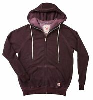 2018 NWT MENS IRON AND RESIN TIDE WASH ZIP UP HOODIE $99 oxblood