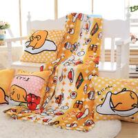 Gudetama egg warm hand cushion pillow blanket quilt office blankets nap anime
