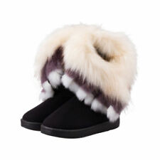 Damen Ankle Boots Stiefel Schneestiefel Winterstiefel Winterschuhe Stiefeletten
