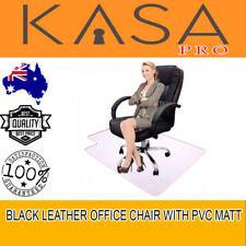 Office Chair With Pvc Matt New Model Genuine Kasa Executive Pu Black Leather
