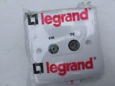 Legrand Synergy White 7300-42 Screened TV FM Outlet