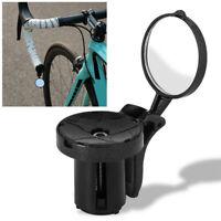 Adjustable Road Bike Bicycle Handlebar Plug Rear View Mirror Cycling  Reflector