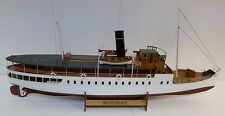 """Elegant, brand new model ship kit by Nordic Class: the """"SS Bohuslän"""""""
