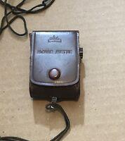 Walz Movie Meter Light Exposure Meter With Case Kodachrome Japan
