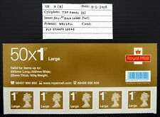 GB 2008 Machin 1st Large Gold Walsall Top Panel Header As Described CS773