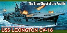 "1/700 USS LEXINGTON (CV-16) - Essex class WWII carrier ""Blue Ghost"" Dragon 7051"