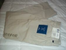NEW TAGS MENS 38X32 DOCKERS TRUE CHINO RELAXED FIT FLAT FRONT STONE KHAKI PANTS