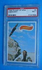 Rare Topps 1969 *Planet of the Apes* Graded *Psa 7* Card # 6 - Movie Green Back