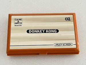 Early 1982 Working Nintendo Donkey Kong DK-52 Game & Watch Multi Screen Gaming