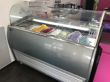 Gelato Case/Ice Cream Display 8 Cases 63''29'&#0 39;50 In Very Good Working Condition