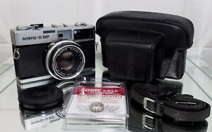 Olympus 35 SP. Case,Strap,manual , Wein Cell .Lovely Condition And Tested .