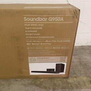 2021 BRANDNEW Samsung HW-Q950A 616W 11.1.4 Soundbar System ( Replaces HW-Q950T )