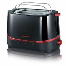 SEVERIN AT2292 Toaster Brötchenaufsatz LED 7 Stufen Toastautomat 800 W NEU OVP