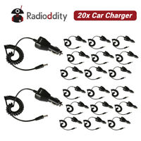 20x Original Car Charger for Baofeng UV-5R UV-82 GT-3 5RTP EX Two way Radio US