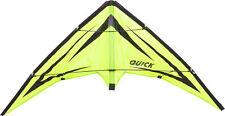 "Stunt Kite ""Quick"" Emerald Ready 2 Fly"