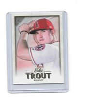 2018 Topps Gallery Los Angeles Angels Mike Trout