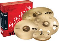 Sabian HHX Evolution 4pc Promotional Pack Set w/Free 18 Ozone Crash NEW