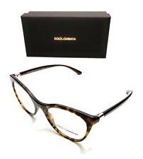 Dolce & Gabbana DG 3312 502 Havana Women's Authentic Eyeglasses Frame 52-20