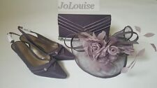 New Jacques Vert Shoes Bag Fascinator ~ Size 5 Wedding Mother Of The Bride Set