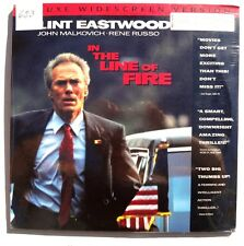SEALED Clint Eastwood IN THE LINE OF FIRE LASERDISC US 1993 Columbia Pictures
