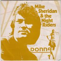 "MIKE SHERIDAN & THE NIGHT RIDERS - Donna - RARE 1981 UK 7"" vinyl single in p/s"