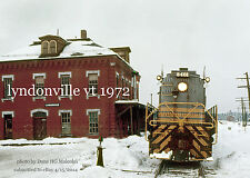 "Canadian Pacific Railway 8403 Lyndonville Vt. 1972  4x6"" photo"
