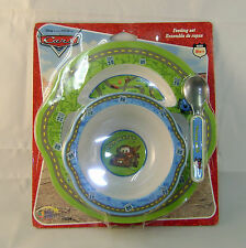 Disney Cars Tow Mater Plastic Baby Dish, Bowl and Spoon Set
