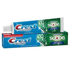 Crest Baking Soda & Peroxide Whitening with Tartar Protection, Toothpaste 4 Oz