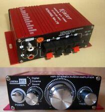 Car HiFi Stereo Amplifier CD MP3 MP4 Amplifier Amp 12V DC Mini Power Amplifier