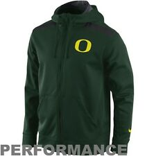 "Nike Oregon Ducks Green Shield Nailhead Full Zip Performance Hoodie ""XX-Large"""
