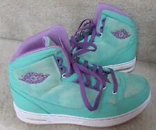 Nike Jordan Classic '91 GS SAMPLES Basketball Shoes Size 3.5 Cool Mint Violet EU