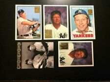 1996 TOPPS 5 MICKEY MANTLE COMMEMORATIVE REPRINTS-NM-MT-HI-END-FREE SHIPPING