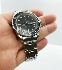 VINTAGE Rolex Submariner 5513 Stainless Steel Black Dial 1967