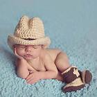 Neugeborene Baby Mädchen Jungen Häkelarbeitknit Kostüm Foto Fotografie Prop Set