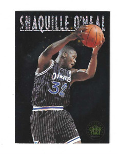 """SHAQUILLE O'NEAL 1993/1994 SKYBOX PREMIUM """" THE CENTER STAGE """" #CS2 $25.00"""