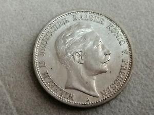 2 Mark 1908 A Kaiserreich Silber Münze Deutsches Reich
