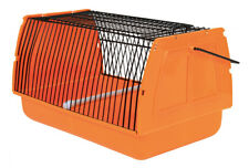 TRIXIE Travel Box Case for Birds, Hamsters and Other Small Animals - Orange