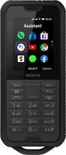 Nokia 800 Tough Dual-SIM schwarz (Wie NEU in OVP)