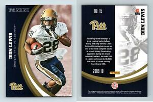 Dion Lewis #15 Pittsburgh Panthers Collegiate 2016 Panini Trading Card