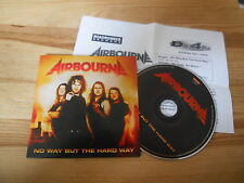 CD metal Airbourne-No way but the Hard Way (1 chanson) PROMO Roadrunner CB pressk