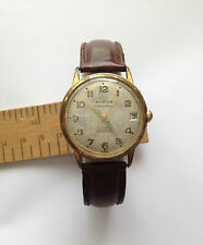 Vintage Swiss Made 30 Jewels AVIATOR Super automatic 3 Position ADJUSTED Hacking