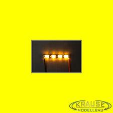 Ledbar cluster Mini LED tipo 1206 con 4 LEDs amarillos modelo ferroviario modellbau