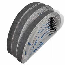 vidaXL 30x Airpress Pneumatic Sand Belt 10xgrit60 10xgrit 80 10xgrit120 Tool