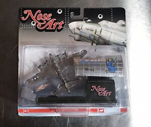 """Corgi Nose Art  Boeing B-17G Flying Fortress """"Baby Lu"""" Die Cast Collection New"""