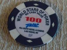 RIO ALL-SUITE CASINO WORLD STARS OF POKER 100 NCV hotel gaming poker chip
