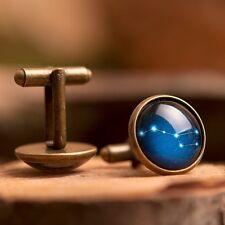 Ursa Major handmade vintage cufflinks, men brass cufflinks, men accessories gift