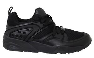 Puma Mens Blaze of Glory Ying Yang Leather Textile Lace Up Trainers 359687 02